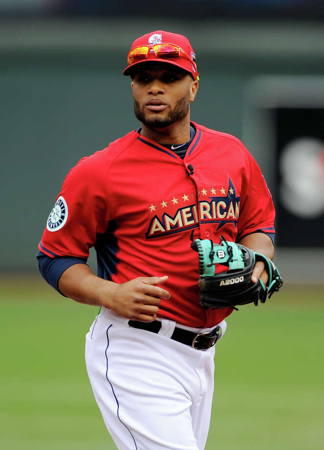 MINNEAPOLIS, MN - JULY 15: American League All-Star Robinson Cano #24 of the Seattle Mariners during batting practice before the 85th MLB All-Star Game at Target Field on July 15, 2014 in Minneapolis, Minnesota. Photo: Hannah Foslien, Getty Images / 2014 Getty Images