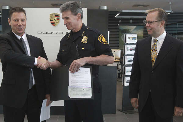 San Antonio Police Department receives a furry donation