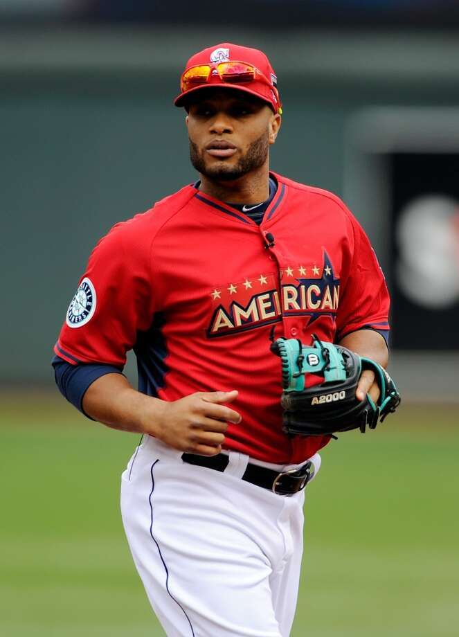 MINNEAPOLIS, MN - JULY 15: American League All-Star Robinson Cano #24 of the Seattle Mariners during batting practice before the 85th MLB All-Star Game at Target Field on July 15, 2014 in Minneapolis, Minnesota.  (Photo by Hannah Foslien/Getty Images) Photo: Getty Images