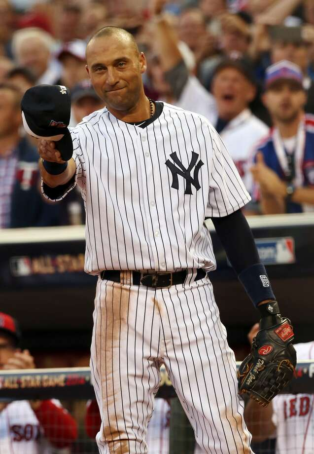 Derek Jeter was the draw as his last All-Star Game drew the Mid- summer Classic's highest ratings since 2010. Photo: Jim Mone, Associated Press