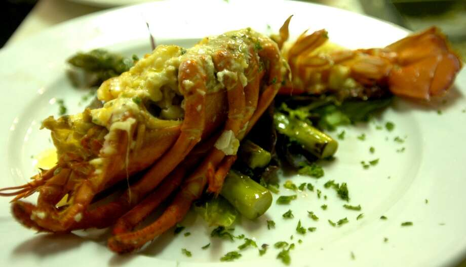 Finch Hutton offers a Lobster Thermadore entre' in Nederland, Friday, January 27, 2012. Tammy McKinley/The Enterprise