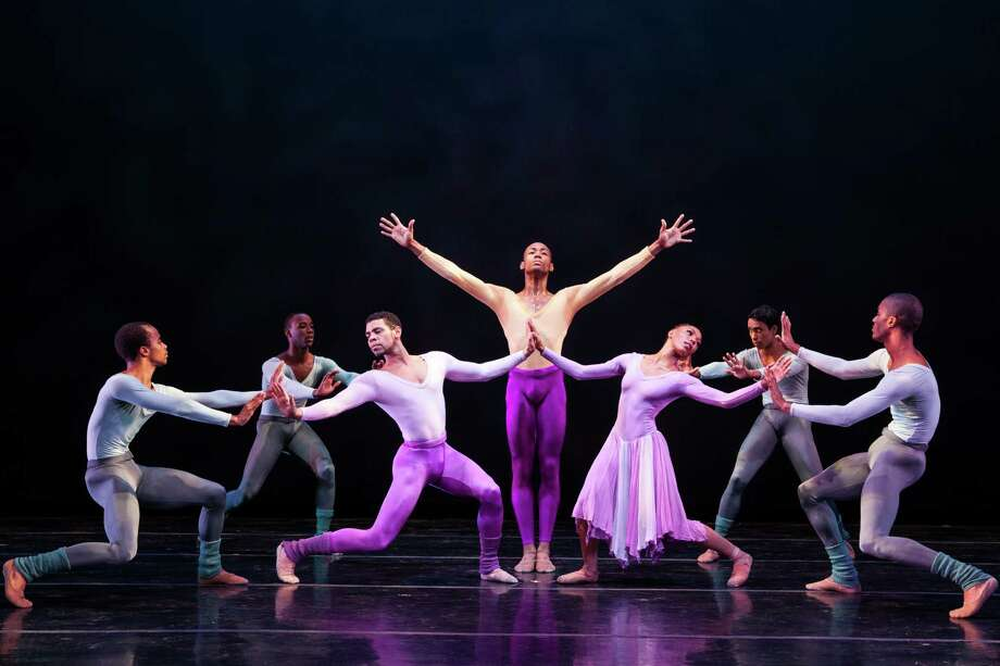 """Dance Theatre of Harlem will perform Alvin Ailey's """"The Lark Ascending"""" and other works Wednesday at Miller Outdoor Theatre. Photo: Matthew Murphy / ONLINE_YES"""