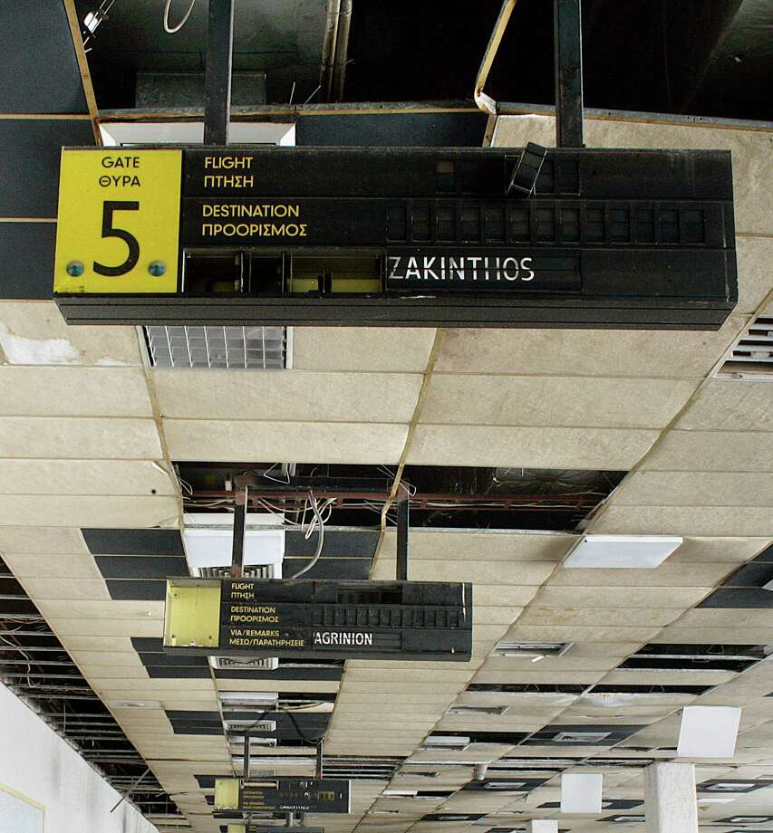Inside Athens' 'ghost Airport'