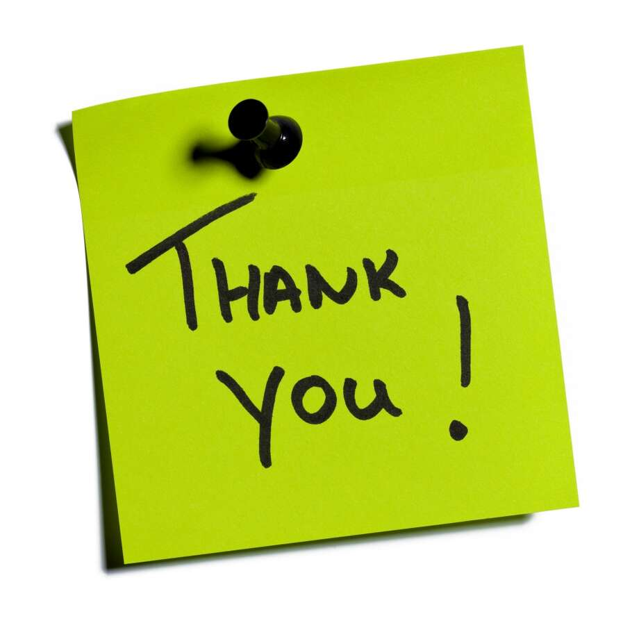 Don't take people for granted It's easy to forget to say thank you—especially if you are not present when someone sets up the conference room or picks up your lunch. But once in a while, it's a great idea to show appreciation for co-workers who demonstrate initiative. Whether you express your gratitude verbally or in an email, an acknowledgment will go a long way. Photo: Morten Olsen, Getty Images