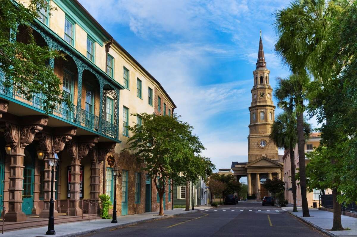 2.Charleston, S.C. Repeating its 2014 position as the second