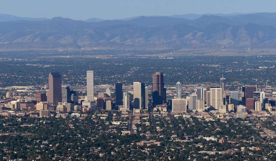 Denver, ColoradoSummer temperature in 2014:85.53 F  Summer temperature in 2100:  96.69 F Photo: Kevork Djansezian, Getty Images