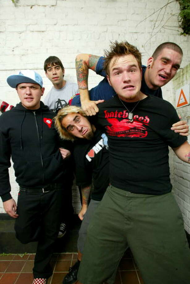"""New Found Glory-""""Hit Or Miss""""If you had to pick one song to define this era of pop-punk, you can't go wrong with choosing the forever enduring  """"Hit Or Miss."""" Photo: Nigel Crane, Redferns / Redferns"""