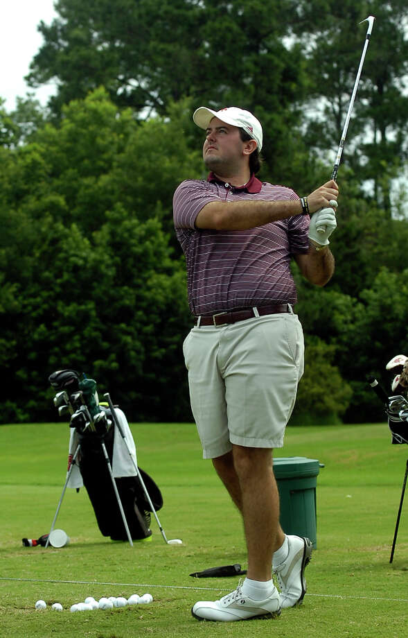 Former Kelly star and current Texas State golfer Tyler Thomas qualifies for the USGA Public Links Championship to be held in Newton, Kansas. This year's championship is the 89th and final tournament. Photo taken Friday, July 04, 2014 Raymond Partch/The Enterprise Photo: Guiseppe Barranco, Photo Editor