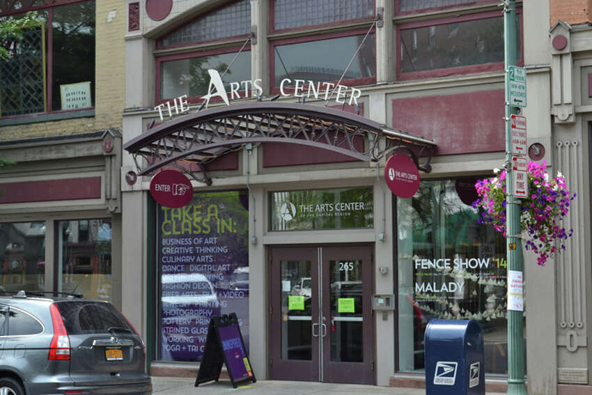 The Art Center on River Street in Troy.