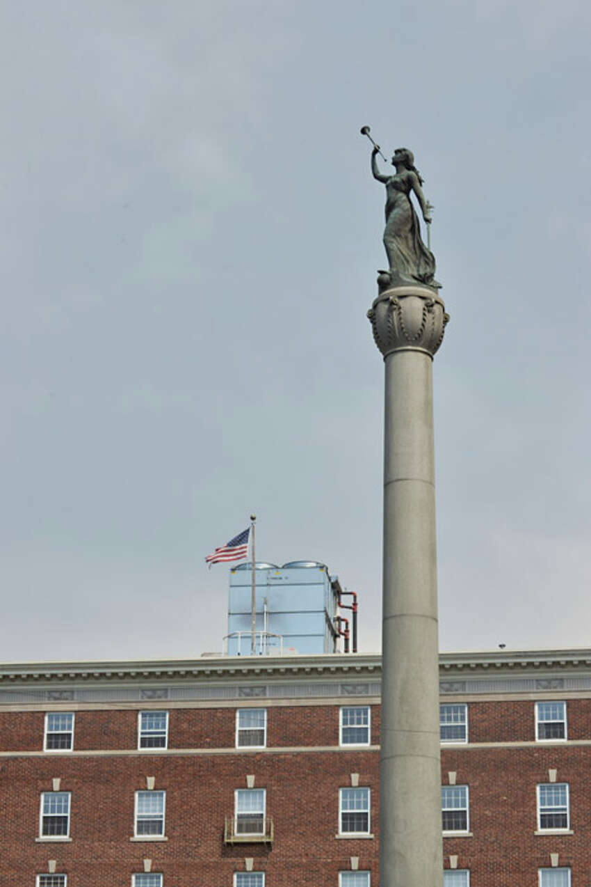 Soldiers and Sailors Monument is a war monument in Monument Square, at Broadway and 2nd Street in Troy. It honors those from Rensselaer County who served in the Revolutionary War, the War of 1812 and the American Civil War.