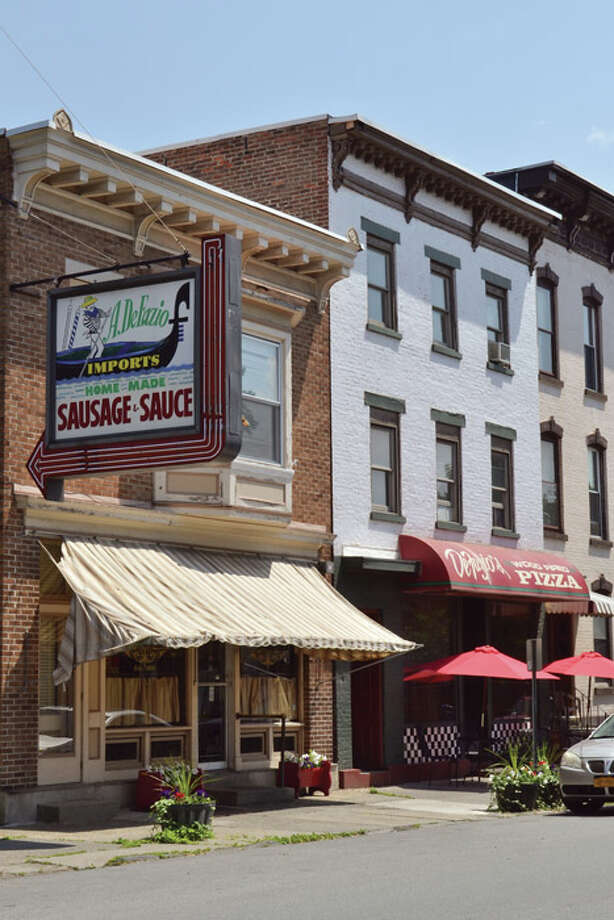 DeFazio's Pizzeria in the Little Italy neighborhood of Troy Photo: Tony Pallone, 518Life