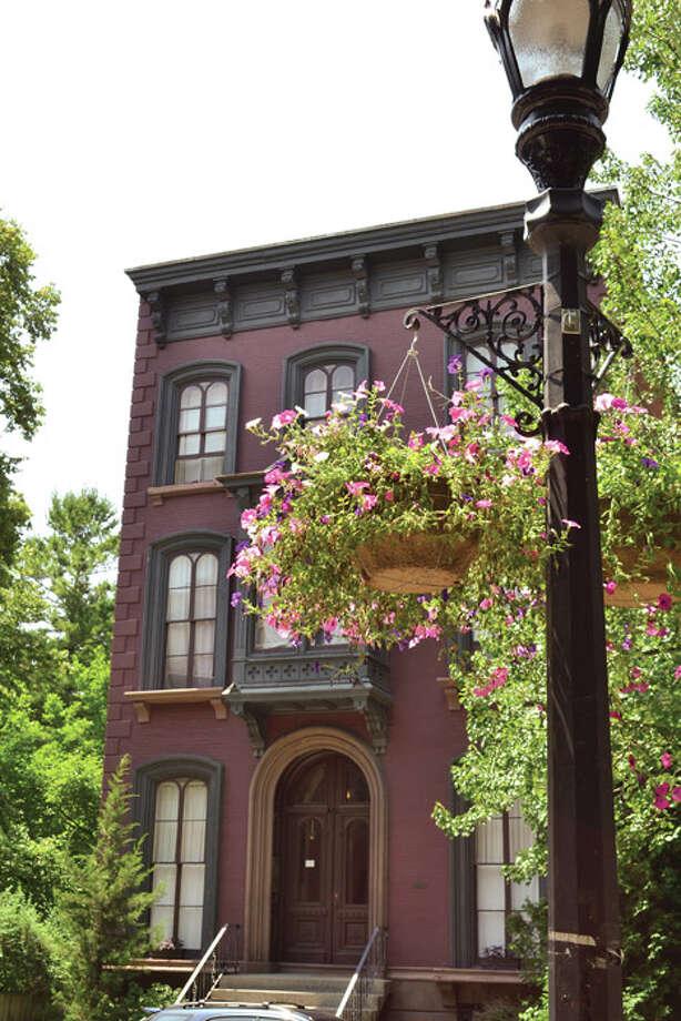 A house off of Washington Park in Troy. Photo: Tony Pallone, 518Life