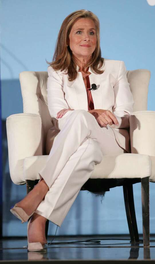 """Meredith Vieira discusses her new project, """"The Meredith Vieira Show,"""" at the 2014 Summer Television Critics Association gathering on Monday. It will debut in the fall. Photo: Frederick M. Brown / Getty Images / 2014 Getty Images"""