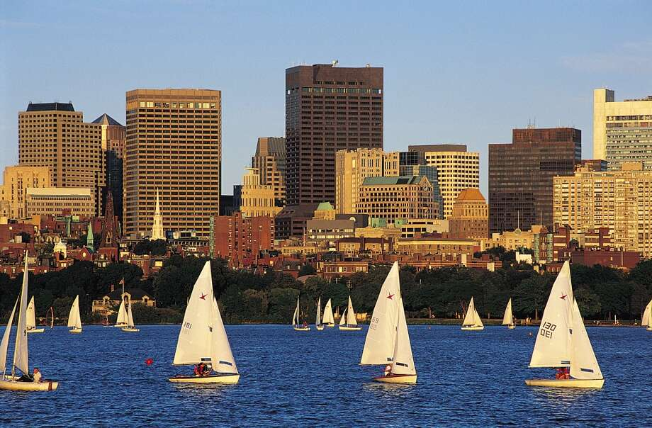 BostonSummer temperature in 2014:78.98 F  Summer temperature in 2100: 89.11 F Photo: Getty Images