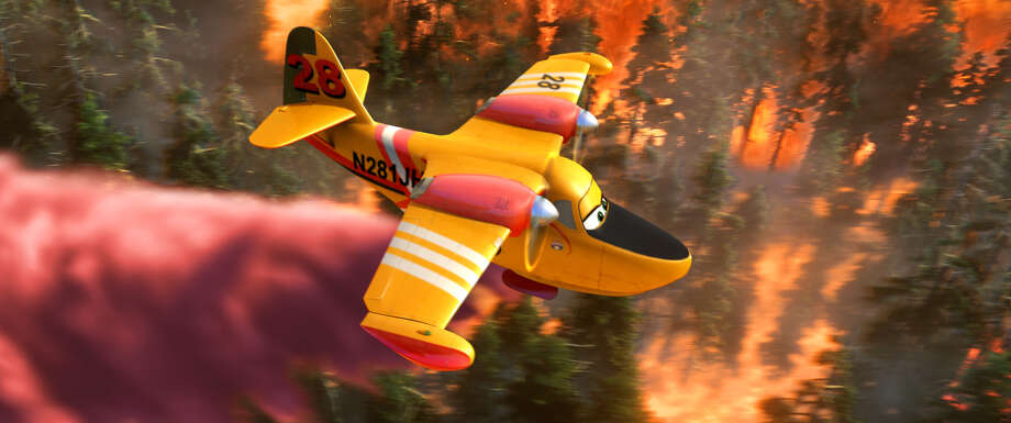 """PLANES: FIRE & RESCUE"" Pictured: Dipper. ©2014 Disney Enterprises, Inc. All Rights Reserved. Photo: PLANES: FIRE & RESCUE / ©2014 Disney Enterprises, Inc. All Rights Reserved."