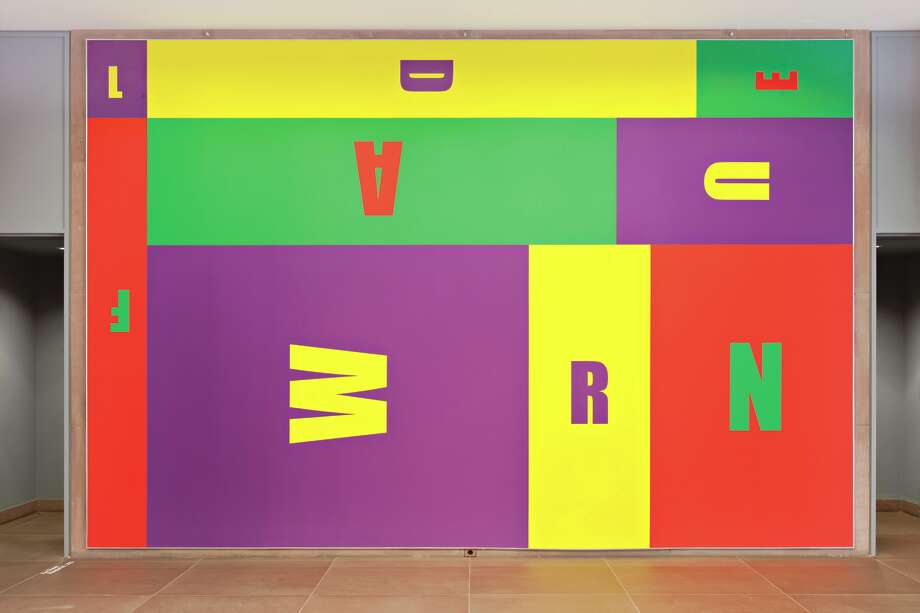 Kay Rosen Wanderful! 2013 Paint on wall Dimensions variable Installation view, For the Time Being: Wall Paintings, Painted Walls, Kunsthalle Bielefeld, Germany, 2013 Courtesy of the artist and Sikkema Jenkins & Co. Photo: Kay Rosen