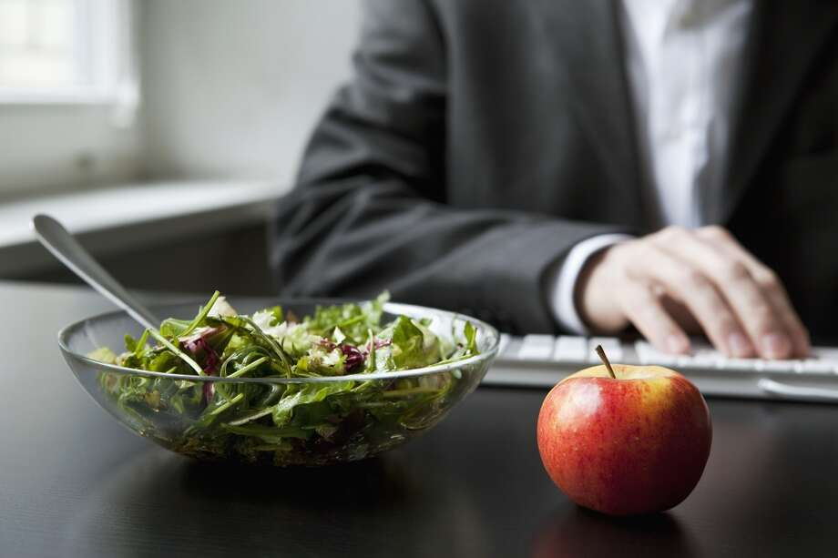 Don't let your lunch left overs sit on your desk for days No one wants to watch your lunch turn from delicious to rotten. Put away leftovers as soon as you're done eating and throw out anything you don't plan to eat again. Food can also go bad in your office refrigerator. Photo: FStop Images - Antenna, Getty Images/Brand X