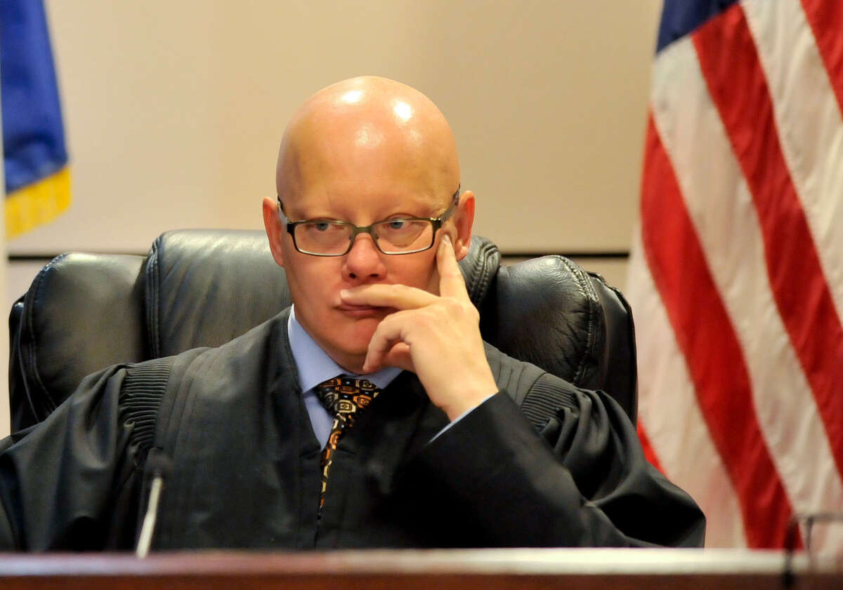 Former state district court judge Angus McGinty: A federal grand jury on June 19, 2014, indicted McGinty on 15 counts related to allegations of bribe-taking and misdeeds. He faces 20 years in federal prison if convicted.