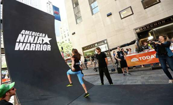"""American Ninja Warrior"" contestant Kacy Catanzaro appears on NBC News' ""Today"" show. Photo: NBC NewsWire, Getty Images / 2014 NBCUniversal Media, LLC."