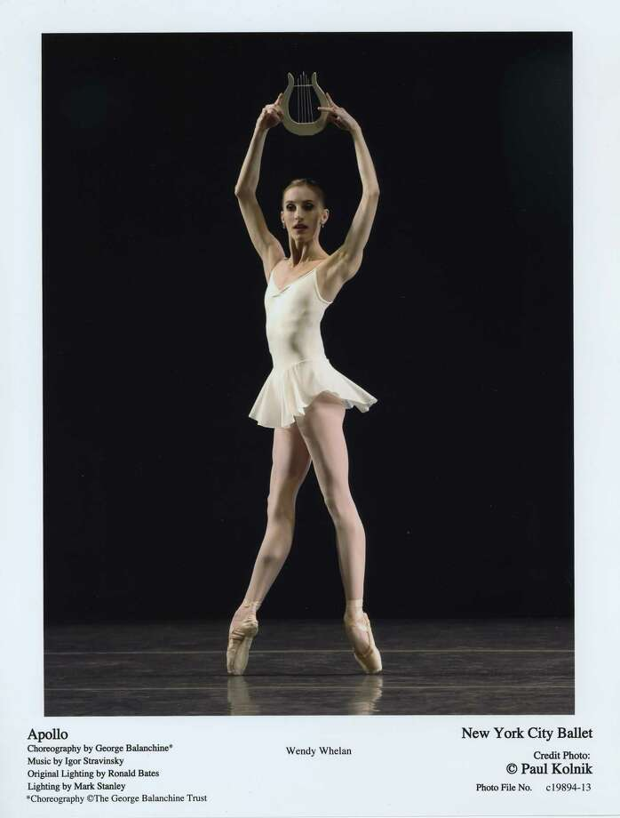 "Wendy Whelan in Balanchine's ""Apollo."" (Paul Kolnick)"