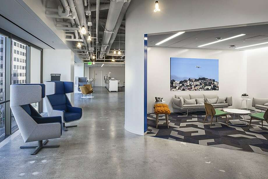 Visa opened its new innovation center at One Market Plaza in San Francisco. Photo: Visa