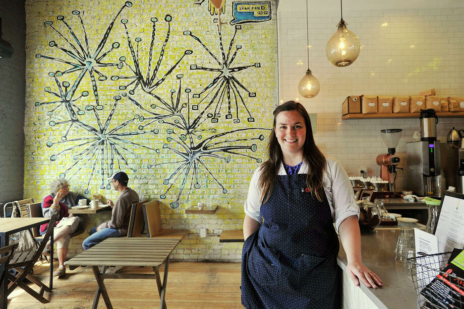Lorca coffee shop owner Leyla Dam will get brewing with a presentation, 'Coffee: The Science and Art of the Perfect Brew' at Stamford's Ferguson Library on Thursday, July 24 at 4 p.m. Photo: Jason Rearick / Stamford Advocate