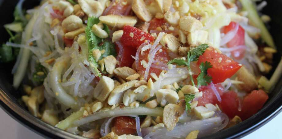 Yum woon sen (glass noodle salad) is one of the offerings at the Wild Beast. Photo: Jennifer McInnis / San Antonio Express-News