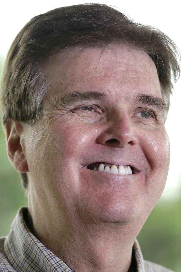 State Sen. Dan Patrick is the Republican nominee for lieutenant governor. / AP