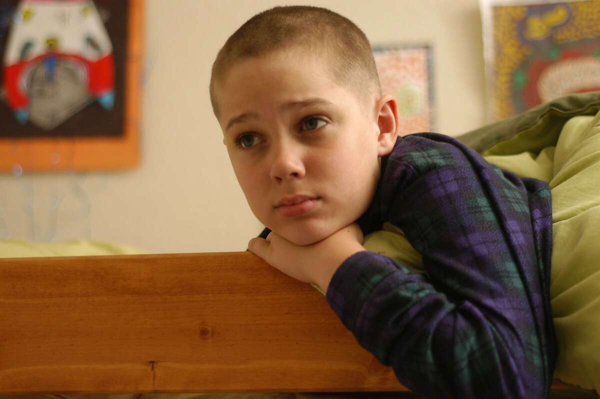 Mason (Ellar Coltrane), age 9, in Richard Linklater?•s BOYHOOD.