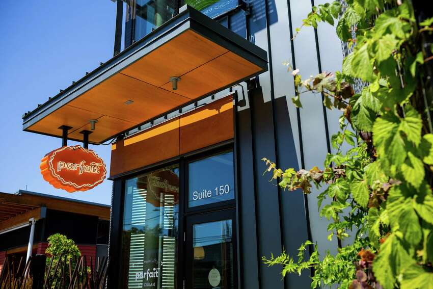 Parfait , 2034 NW 56th St., Ballard: Not only do they make their ice cream and sorbet from scratch, but same goes for their brownies, cones, peanut butter cups, butter toffee and sauces. Nectarines and cream sounds like a juicy summer treat. It also offers a range of vegan sorbets.