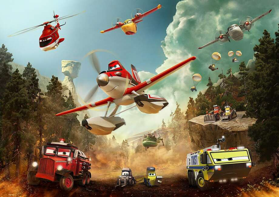 "Crop-dusting plane Dusty finds a new adventure in ""Planes: Fire & Rescue."" Photo: Planes Fire & Rescue, Walt Disney Films"