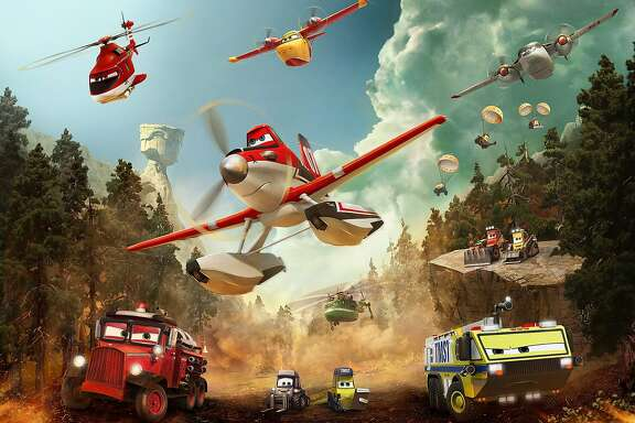 """PLANES FIRE & RESCUE"" Dusty"