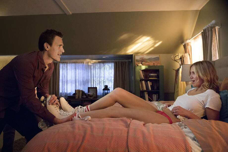 "Jason Segel (Jay), Cameron Diaz (Annie) star in ""Sex Tape."" Photo: Claire Folger, Sony Pictures Releasing"