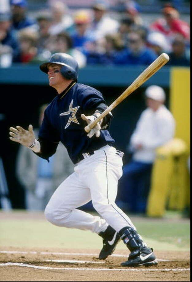 1. Craig Biggio 1998 season 210 hits Photo: David Seelig, Getty Images / Getty Images North America