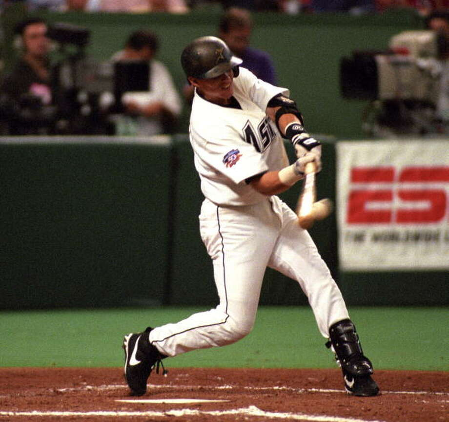 5 (tie). Craig Biggio 1997 season 191 hits Photo: Ronald C. Modra/Sports Imagery, Getty Images / 1997 Ronald C. Modra/Sports Imagery