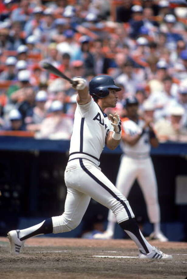 10. Jose Cruz 1984 season 187 hits Photo: Rich Pilling, MLB Photos Via Getty Images / 1984 Rich Pilling