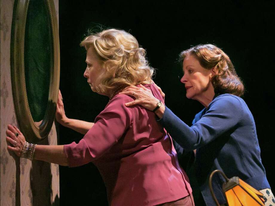 "Betty Buckley, left, and Hallie Foote in the play ""Old Friends"" last year at the Pershing Square Signature Center in New York. Both will appear in the Alley Theatre's Houston premiere. Photo: SARA KRULWICH, STF / NYTNS"