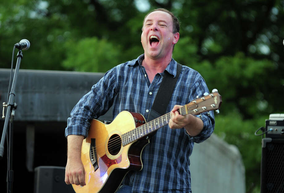 "Tom Portera, with the Highland Rovers, performs during Shelton's ""Music Under the Stars"" concert series held at Riverwalk Park in Shelton, Conn. on Wednesday July 16, 2014. The next concert will be Gunsmoke on July 23rd from 7-9 p.m. Photo: Christian Abraham / Connecticut Post"