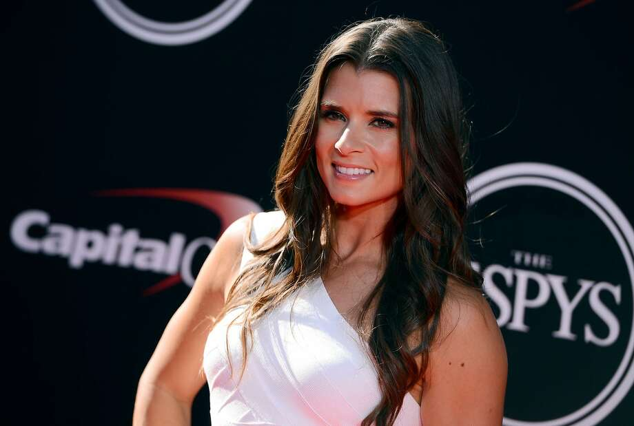 Racer Danica Patrick arrives at the ESPY Awards at the Nokia Theatre on Wednesday, July 16, 2014, in Los Angeles. (Photo by Jordan Strauss/Invision/AP) Photo: Jordan Strauss, Associated Press