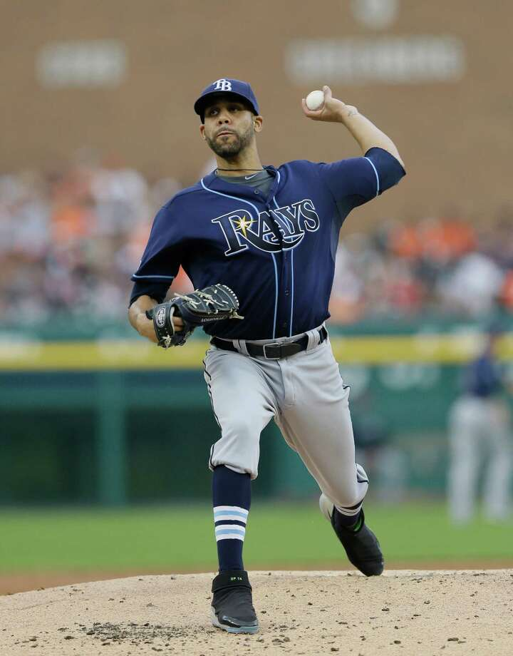 Rays lefthander David Price, a former Cy Young winner, could be the No. 1 focal point of contending teams as the trading deadline nears. Photo: Carlos Osorio, STF / AP
