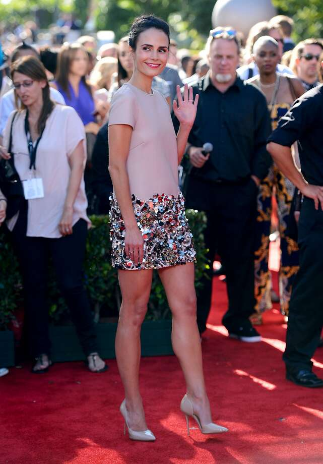 Actress Jordana Brewster arrives at the ESPY Awards at the Nokia Theatre on Wednesday, July 16, 2014, in Los Angeles. (Photo by Jordan Strauss/Invision/AP) Photo: Jordan Strauss, Associated Press