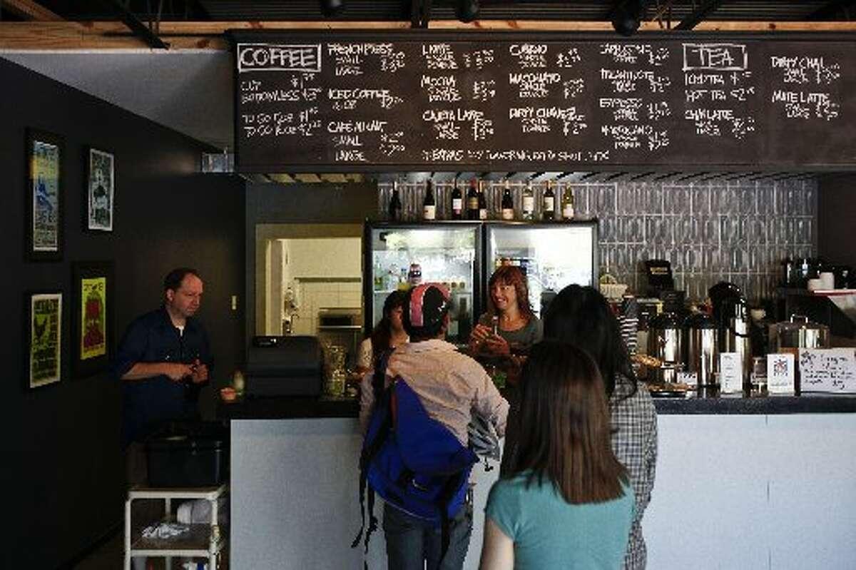Black Hole Coffee HouseAddress:4504 Graustark St. Phone: (713) 528-0653 Website: twitter.com/blackholecoffee