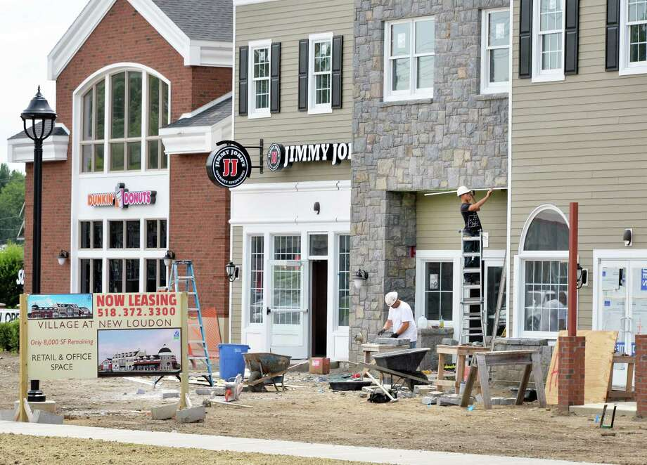 Construction continues at the Village at New Loudon Wednesday July 16, 2014, on Route 9 in Colonie, N.Y.  (John Carl D'Annibale / Times Union) Photo: John Carl D'Annibale / 00027821A