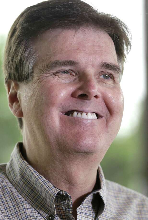 As a Republican campaigning in a red state, Dan Patrick might be able to tap additional resources more easily than his opponent. / AP