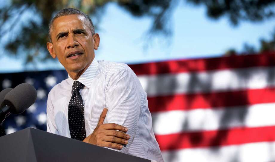 President Barack Obama announced a series of climate change initiatives Wednesday to safeguard power grids and improve local planning for weather-related disasters. Photo: New York Times / NYTNS