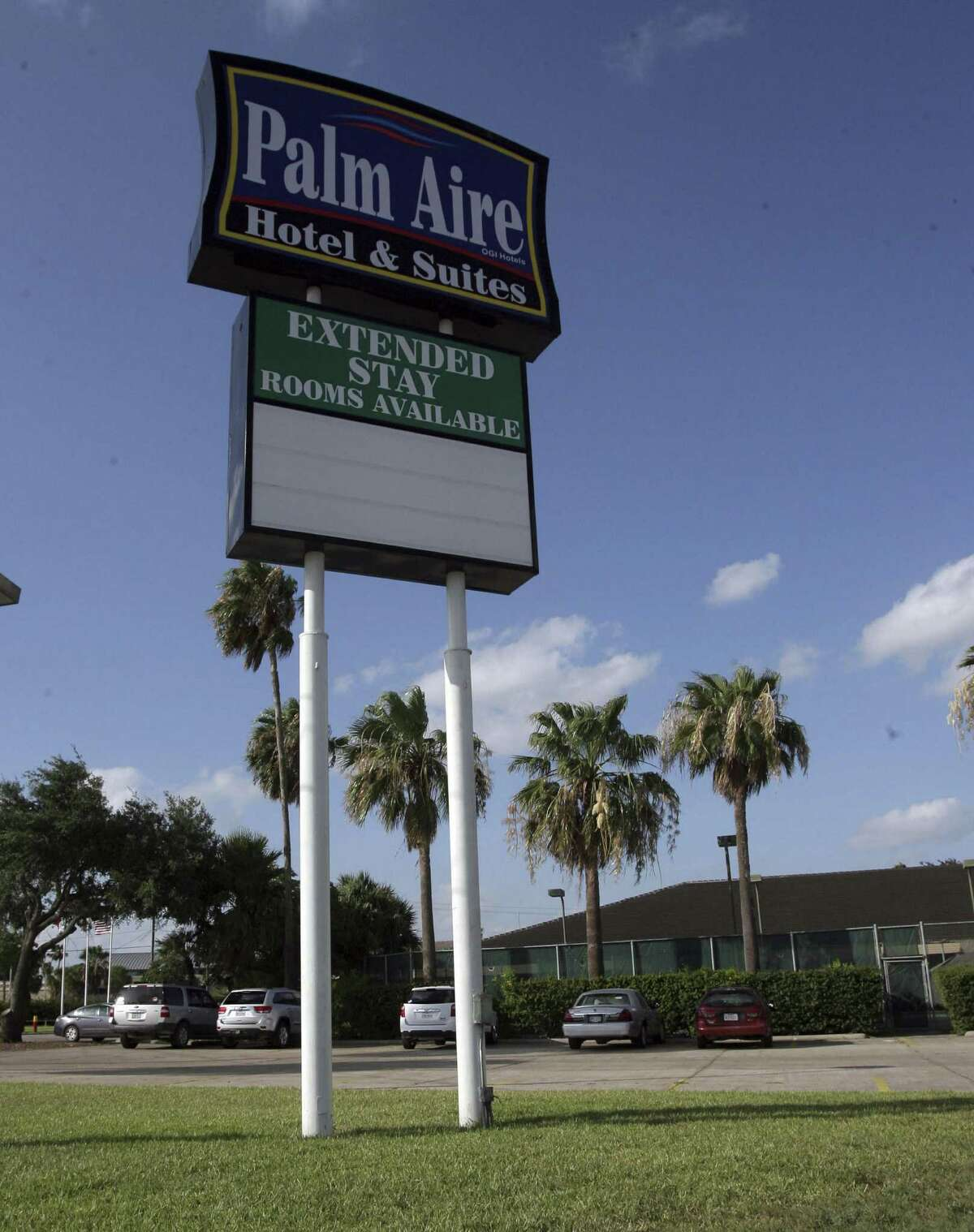 The hotel in Weslaco, which is open and taking reservations, is listed for sale for $4 million on a website.