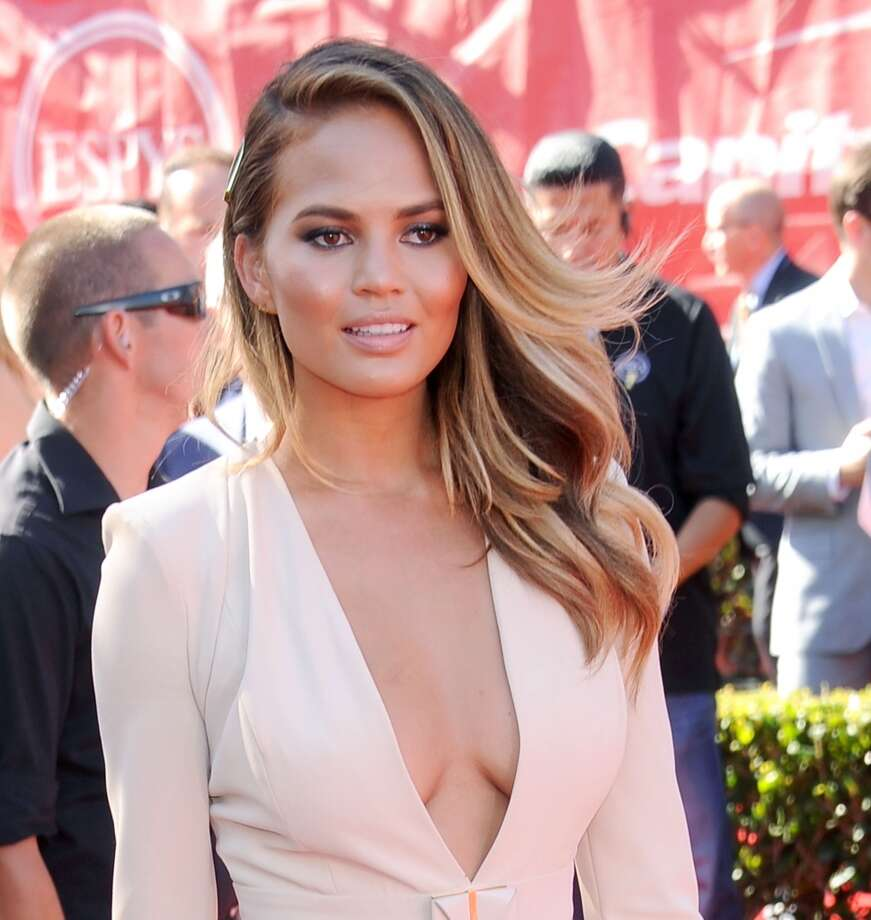 LOS ANGELES, CA - JULY 16: Model Chrissy Teigen arrives at the 2014 ESPY Awards at Nokia Theatre L.A. Live on July 16, 2014 in Los Angeles, California.  (Photo by Gregg DeGuire/WireImage) Photo: WireImage