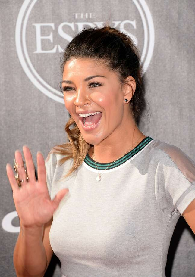 Actress Jessica Szohr attends The 2014 ESPY Awards at Nokia Theatre L.A. Live on July 16, 2014 in Los Angeles, California.  (Photo by Jason Merritt/Getty Images) Photo: Jason Merritt, Getty Images