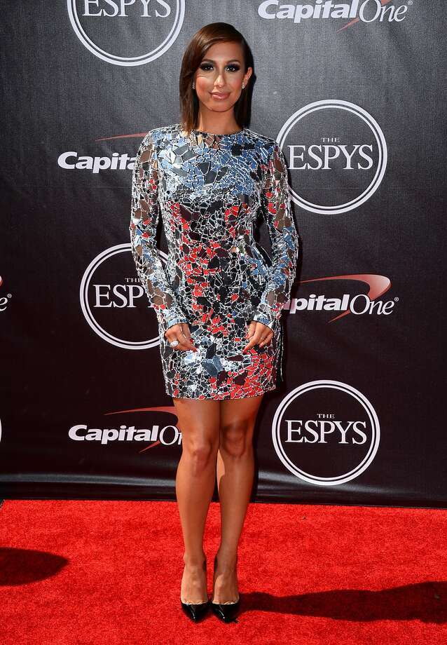 Dancer Cheryl Burke arrives at the ESPY Awards at the Nokia Theatre on Wednesday, July 16, 2014, in Los Angeles. (Photo by Jordan Strauss/Invision/AP) Photo: Jordan Strauss, Associated Press