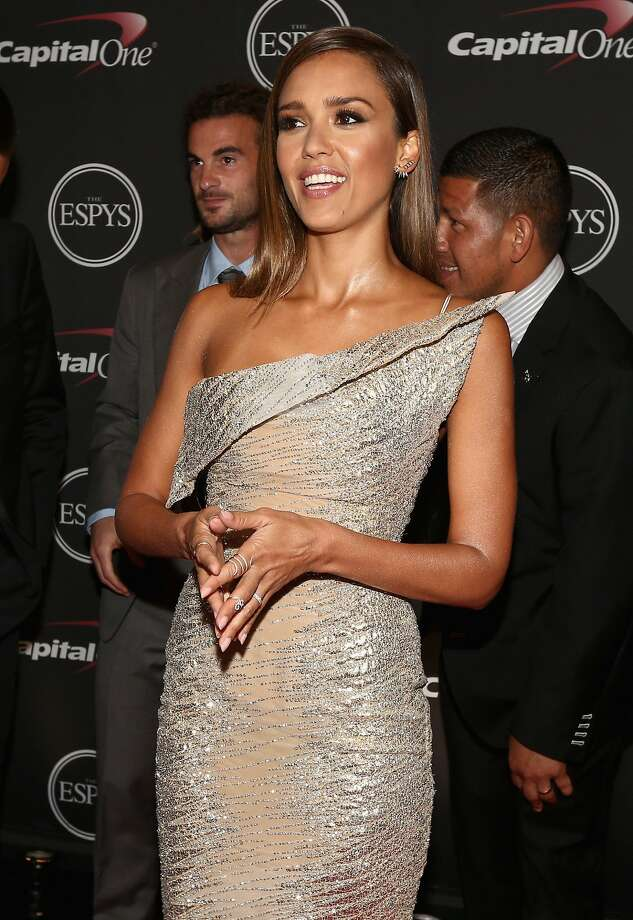 LOS ANGELES, CA - JULY 16:  Actress Jessica Alba attends The 2014 ESPY Awards at Nokia Theatre L.A. Live on July 16, 2014 in Los Angeles, California.  (Photo by Christopher Polk/Getty Images For ESPYS) Photo: Christopher Polk, Getty Images For ESPYS